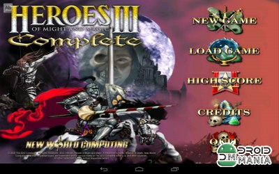 Скриншот Heroes of Might and Magic 3 / VCMI for Android №1