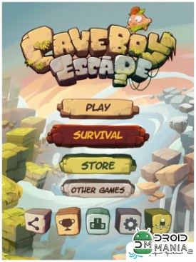 Скриншот Caveboy Escape №1