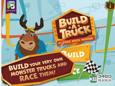 Скриншот Build A Truck - Duck Duck Moose №1