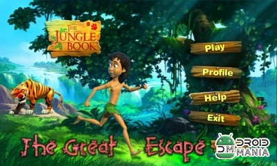 Скриншот Jungle Book - The Great Escape №1