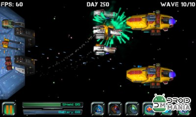 Скриншот Космос 3D: атака пиратов / Space Station Defender 3D: атака пиратов №1