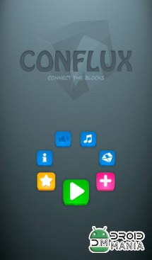 Скриншот CONFLUX: Соедини Блоки / CONFLUX: Connect the Blocks! №1