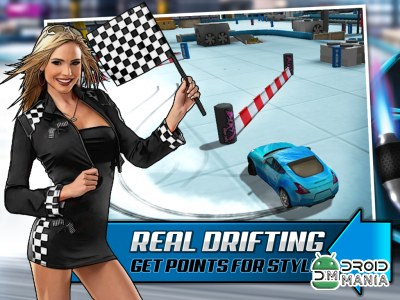 Скриншот 3D Drift Xtreme Race Simulator №1
