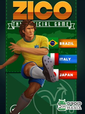 Скриншот Zico: The Official Game №1
