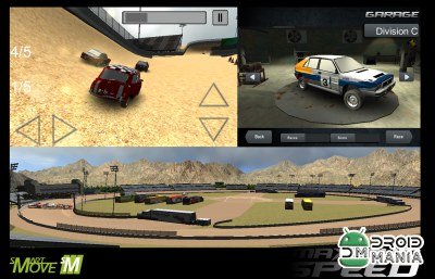 Скриншот Maximum Speed Racing 3D 2014 №1