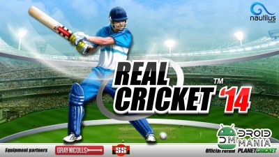 Скриншот Real Cricket 14 №1