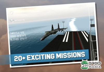 Скриншот Action Flight Simulator 3D №1