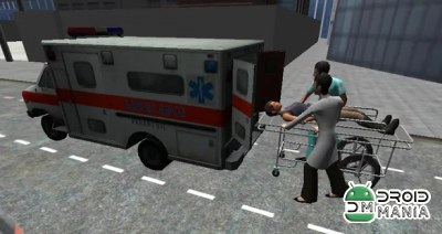 Скриншот Ambulance Parking 3D Extended №2