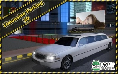 Скриншот Limousine Parking 3D №1