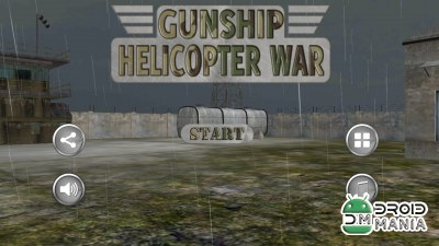 Скриншот Gunship Helicopter War 3D №1