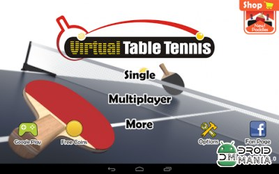 Скриншот Virtual Table Tennis №1