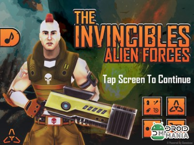 Скриншот The Invincibles Alien Forces №1