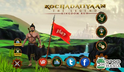 Скриншот Kochadaiiyaan: Kingdom Run №1