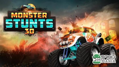 Скриншот 3D Monster Stunts №1