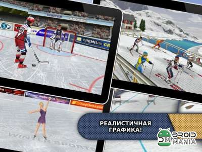 Скриншот Athletics: Winter Sports №1