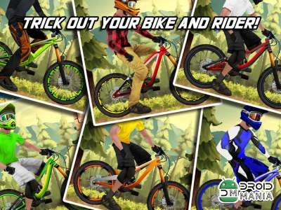 Скриншот Bike Mayhem Mountain Racing №1