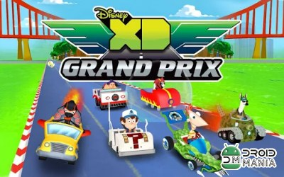 Скриншот Disney XD Grand Prix №1