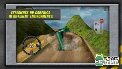 Скриншот HILL CLIMB TRANSPORT 3D №1