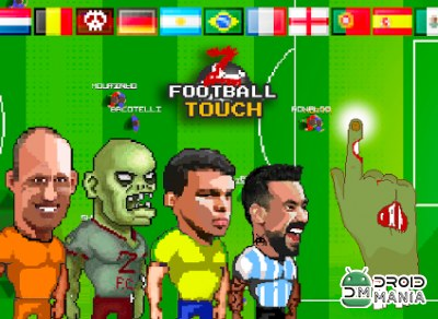 Скриншот Football Touch Z Arcade №1