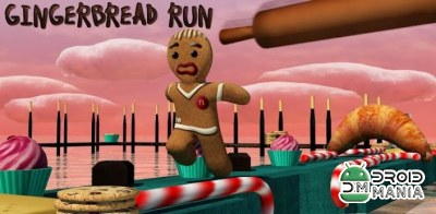 Скриншот Gingerbread Run №1