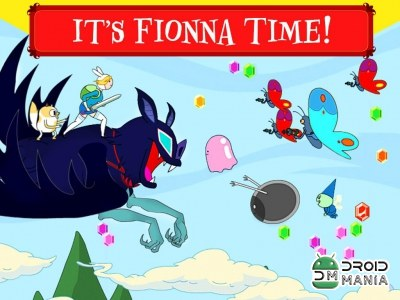 Скриншот Fionna Fights - Adventure Time №1