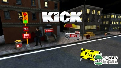 Скриншот KICK: The Movie Game №1