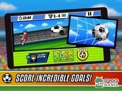 Скриншот Soccer Heroes - Road to Brazil №1