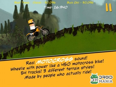 Скриншот Moto McSteed Motocross Racing №1