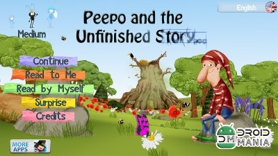 Скриншот Peepo and the Unfinished Story №1