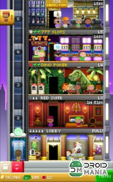 Скриншот Tiny Tower Vegas №1