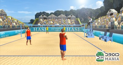 Скриншот Beach Volleyball World Cup №1