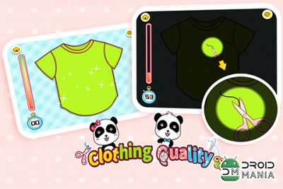 Скриншот Clothing Quality by BabyBus №1