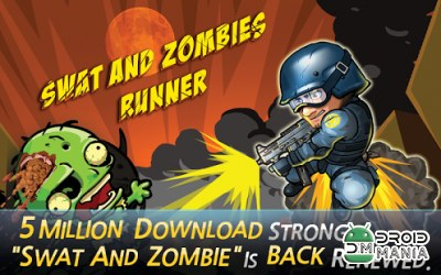 Скриншот SWAT and Zombies Runner №1