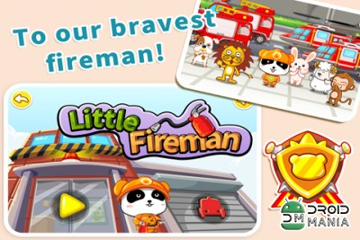 Скриншот Little Fireman by BabyBus №1