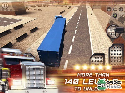Скриншот Truck Parking Simulation 2014 №1