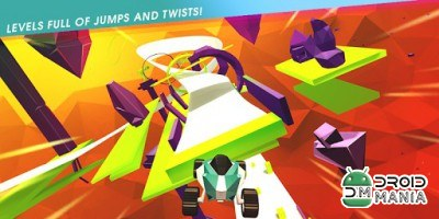 Скриншот Stunt Rush - 3D Buggy Racing №1