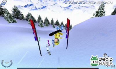 Скриншот Snowboard Racing Ultimate №1