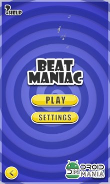 Скриншот Beat Maniac: Music Rhythm Game №1