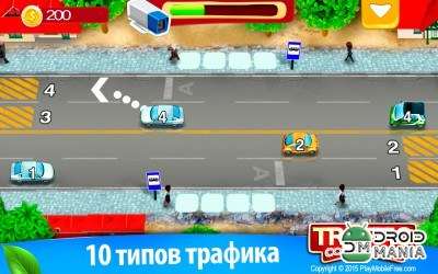 Скриншот Traffic Conductor: Car Control / Трафик: Управляй Автомобилями №1