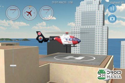 Скриншот Helicopter Flight Simulator 2 №1