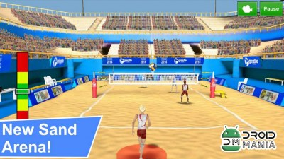 Скриншот Volleyball Champions 3D №1