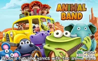 Скриншот Animal Band Free ~ 3D Music Toy №1