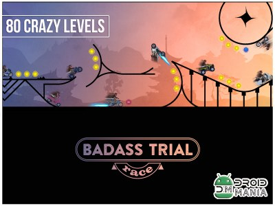 Скриншот BADASS TRIAL RACE FREE RIDE №1