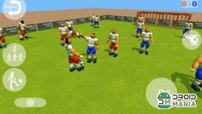Скриншот Goofball Goals Soccer Game 3D №1
