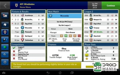 Скриншот Football Manager Handheld 2015 №2