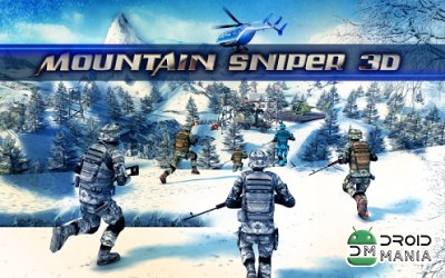 Скриншот Mountain Sniper Killer 3D FPS №1