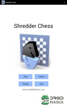 Скриншот Shredder Chess №1