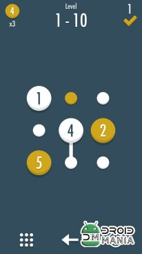 Скриншот Noda - Dots and Number Puzzle №1