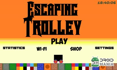 Скриншот Escaping Trolley v 2.0 №1