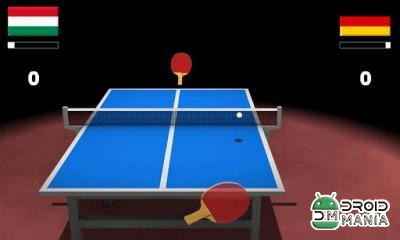 Скриншот Virtual Table Tennis 3D №2